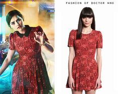 """Doctor Who Clara Cosplay Costume """"Journey to the Center of the TARDIS"""" Dress Replica by FandomFabric"""
