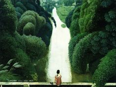 Jian Chong Min Amazing Landscape Painting ~ Blog of an Art Admirer