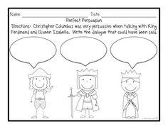 Christopher Columbus Activities