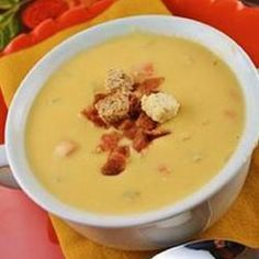 Wisconsin Native's Beer Cheese Soup Recipe - Allrecipes.com