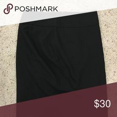 The Limited black pencil skirt The Limited Black pencil skirt. 0P. Never worn. The Limited Skirts Pencil