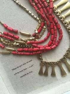 Bliss Necklace // Stella & Dot #versatility #color #chic #stelladotstyle