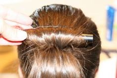 how to put your hair in a ballet bun