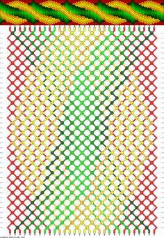 Muster # 75656, Streicher: 30 Zeilen: 40 Farben: 9