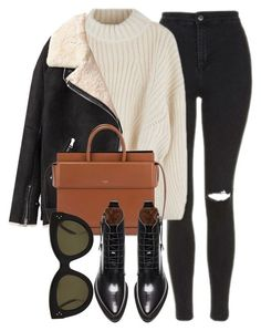 Untitled #6910 by laurenmboot on Polyvore featuring Acne Studios, Topshop, Givenchy and CÉLINE