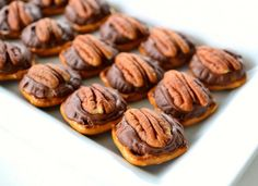 Those Pretzel Things (aka Pecan Rollo Bites): A simple, savory-sweet snack for your next party.