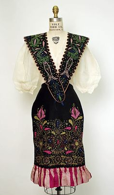 Late 19th to early 20th century Spain, possibly from Aragon