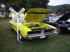 Dirty Mary Crazy Larry Charger nice but incorrect the real one was green
