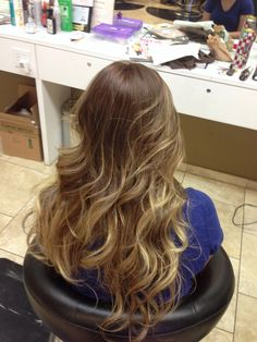 Blonde ombre-this could work it's not too gold or brassy