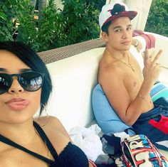 Fun in the sun! Austin Mahone treated girlfriend Becky G to a day at the beach on July 5, and the couple spent their time frolicking in the water and looking absolutely crazy about each other. These two are so cute!