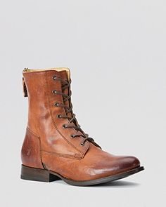 Frye Lace Up Boots - Jamie Artisan | Bloomingdale's