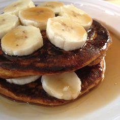 Jamie Eason Pumpkin Protein Pancakes - Made with Love