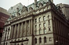 Beautiful Building close to City Hall, Manhattan, New York City, New York, USA by Bencito the Traveller, via Flickr