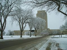 Bismarck, North Dakota. State Capital known as the skyscraper of the prairies.
