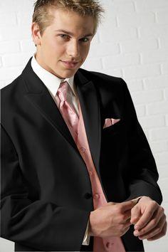 prom tuxedos | Chaps - Lexington - Prom Tuxedos - Black Tux