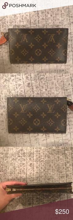 39e073b08c About 6 inches long. Great for holding cards cash change Louis Vuitton Bags  Wallets. Μαρια Γεωργουσοπουλου · Πορτοφολια