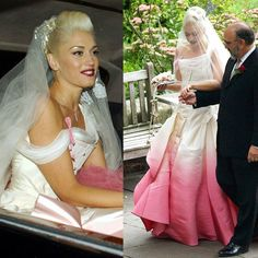 Top 10 Most Iconic Wedding Dresses of History Gwen stefani wedding