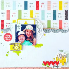 Today I am sharing a Stargazer Layout with written instructions and a video tutorial so you can recreate this layout if you wish. Scrapbooking Layouts, Scrapbook Pages, Paper Doilies, Wooden Shapes, Finders Keepers, Smash Book, Stargazing, Vintage Books, Happy Day