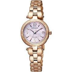 Mens White Watches - [シチズン]CITIZEN 腕時計 EXCEED エクシード Eco-Drive エコ・ドライブ 電波時計 ダイヤモデル ES8002-53W レディース   最新の時間センター