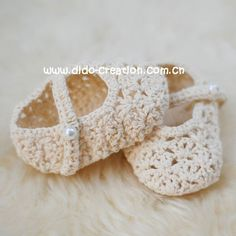 DD07007C Handmade Crochet Baby kids new Shoes footwear 2011 for babies 0-6 Month 3.5'