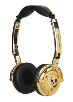 skullcandy goldplate #headphone