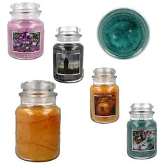 VILLAGE CANDLES 170 HOURS BURNING TIME  STYLE- 15024