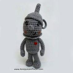 Download Tin Man Amigurumi Pattern (FREE)