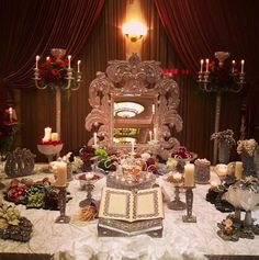 In LOVE with this Sofreh!!! It's a Persian wedding tradition