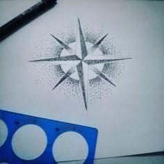 Fresh WTFDotworkTattoo Find Fresh from the Web Tattoo de amanhã #sketch #drawing #geometry #dotwork #nankin #tattoodesign #compass #rosadosventos ali.palaoro WTFDotWorkTattoo