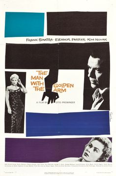 """""""THE MAN WITH THE GOLDEN ARM"""" 1955"""