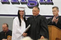 WATCH: Ohio school holds early graduation for student with dying father Honor Student, Lets Celebrate, Fathers, Ohio, Hold On, High School, Graduation, Babies, Watch