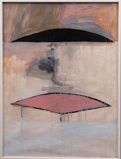 Silja Rantanen (Finnish, b.1955), HORIZON, 1983. Gouache, 135 x 100 cm