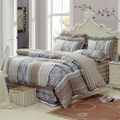 Aliexpress.com : Buy Comforter set 4pcs printed 100% cotton bedding set with reactve bedcover flat sheet bed skirt for home textiles wholesale prices from Reliable Comforter set suppliers on Yous Co., Ltd. $86.00 - 88.00