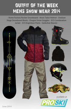 Men's Snowboarding outfit
