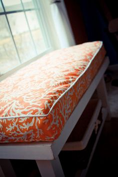 Rachels Nest DIY Bench Cushion