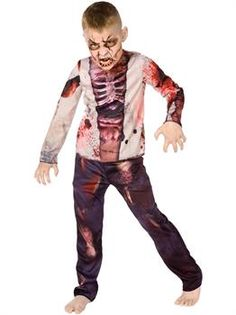 Zombie Child Costume - PartyBell.com
