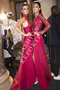 Zuhair Murad Backstage | Haute Couture Fw14-15 | Ph. Antonello Trio