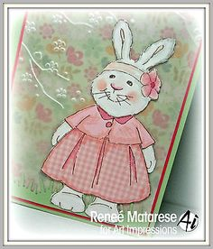 Kate   made by Art Impressions. All can be found in my ebay store  & Can be purchased in my ebay Store Pat's Rubber Stamps & Scrapbooks, click on the picture to see it, or call me 423-357-4334 with order, or come by 1327 Glenmar Ave. Mt Carmel, TN 37645, Pat's Rubber Stamps & Scrapbook supplies 423-357-4334. We take PayPal. You get free shipping with the phone orders of $30.00 or more. Use my search engine to find them