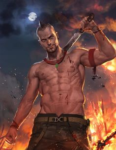 VASS... seriously awesome Far Cry art .O. Yissss -Will