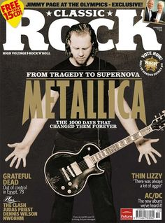 metallica magazine cover | A2 Richard, Romany and Emma
