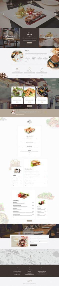 Lavie Restaurant - Bar & Cafe Responsive WordPress Theme • Download ↓ https://themeforest.net/item/lavie-restaurant-bar-cafe-responsive-wordpress-theme/15257916?ref=pxcr Está farto de procurar por templates WordPress? Fizemos um E-Book GRATUITO com OS 150 MELHORES TEMPLATES WORDPRESS. Clique aqui http://www.estrategiadigital.pt/150-melhores-templates-wordpress/ para fazer download imediato!