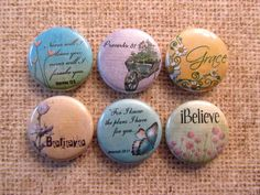 Interchangeable Magnetic Pendants or Pin Back by TheDeliriousDiva, $6.00