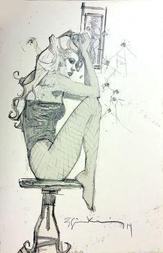 Black Canary by Bill Sienkiewicz *