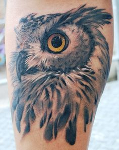 wow love this Owl tattoo