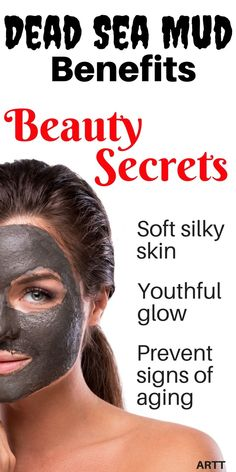 The minerals in the mud are what help to improve blood circulation. These Dead Sea Mud Benefits help to smooth out wrinkles, thus promoting a natural, youthful glow and leaving you with soft and silky skin. | skin care | facial | facial skin care | mud packs | skin care products | face mask | reduce wrinkles | clean pores | moisturizers | moisturizer | oily skin | dry skin