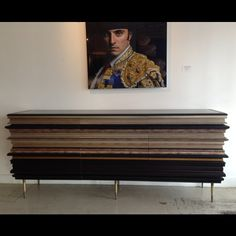 Luis Pons did it again. We are holding onto this beautiful Credenza for a client for the week, make sure to stop by NIBA Home