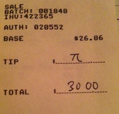 Anytime you can use pi in your day... You should!