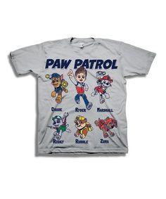 Love this Gray PAW Patrol Tee - Toddler & Boys on #zulily! #zulilyfinds