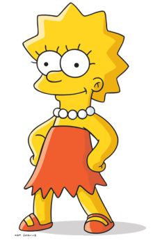 I still want to be just like Lisa Simpson.