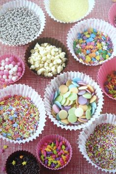 cupcake decorating party - Google Search